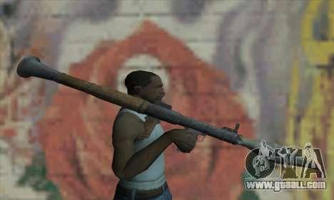 RPG for GTA San Andreas third screenshot