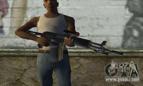 AK47 for GTA San Andreas third screenshot