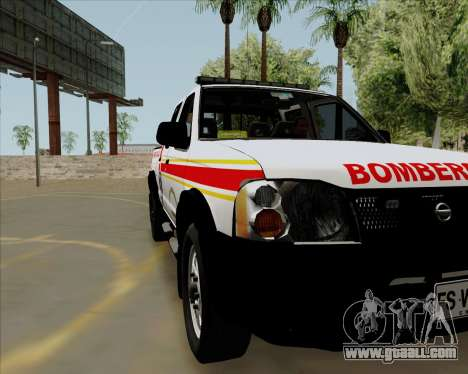 Nissan Terrano for GTA San Andreas back left view