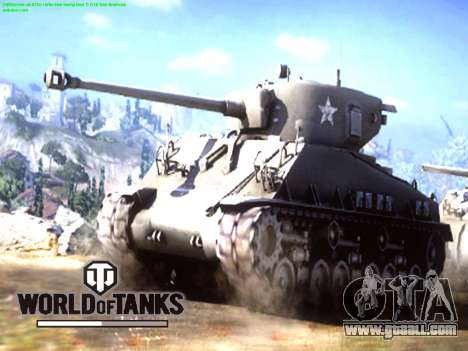 Boot screen World of Tanks for GTA San Andreas second screenshot