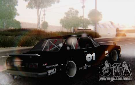 Nissan Skyline 2000 GTR Drift for GTA San Andreas left view