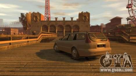 Daewoo Leganza Wagon for GTA 4 left view