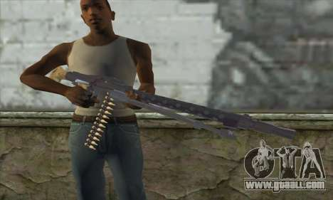 MG42 for GTA San Andreas third screenshot