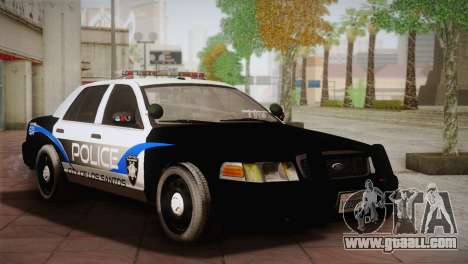 Ford Crown Victoria Police Interceptor 2009 for GTA San Andreas