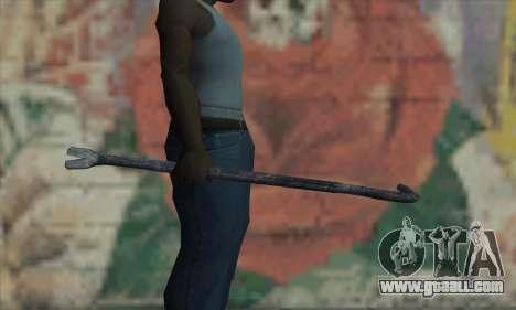 Tire Lever for GTA San Andreas third screenshot