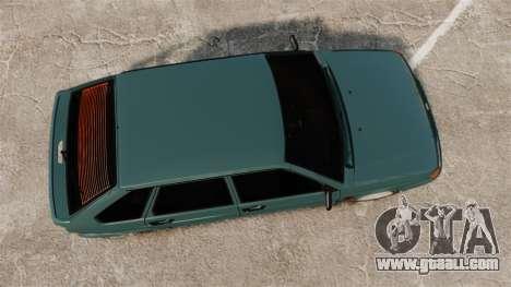 VAZ-2114 Samara-2 for GTA 4 right view