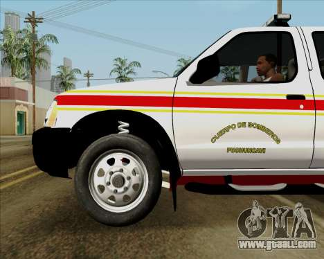 Nissan Terrano for GTA San Andreas engine
