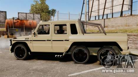 Mercedes-Benz G63 AMG 6x6 for GTA 4 left view