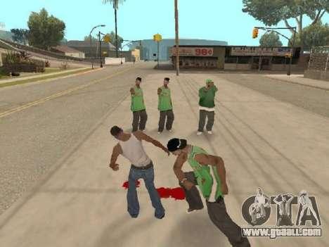 Go to the gang of Ballas for GTA San Andreas second screenshot