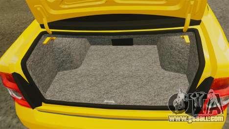 VAZ-Lada 2170 Priora for GTA 4 side view