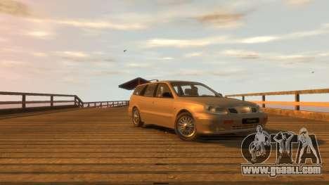 Daewoo Leganza Wagon for GTA 4 right view