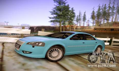 Volga Siber 2.5 AT Restyling for GTA San Andreas left view
