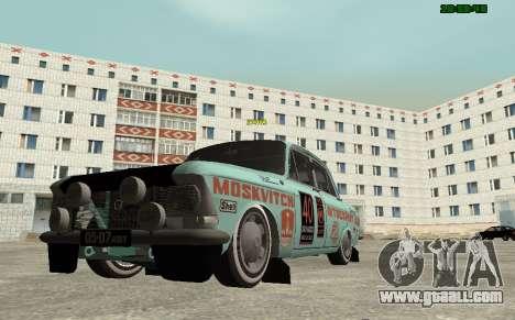 Moskvich 412 Rally for GTA San Andreas