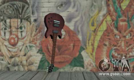 Guitar from L4D for GTA San Andreas