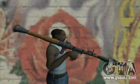 RPG for GTA San Andreas third screenshot
