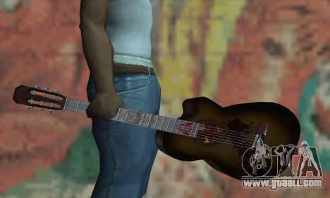 Guitar for GTA San Andreas third screenshot