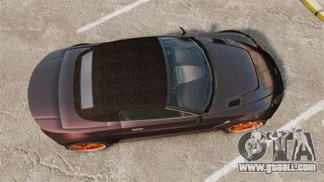 GTA V Dewbauchee Rapid GT for GTA 4 right view