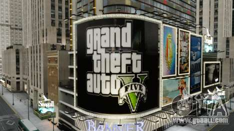 Billboards of GTA 5 for GTA 4