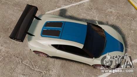GTA V Dinka Jester for GTA 4 right view