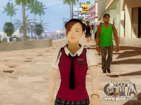 Hanako for GTA San Andreas second screenshot