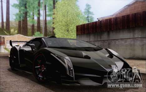 Lamborghini Veneno Roadster LP750-4 2014 for GTA San Andreas