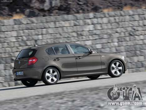 Boot screens BMW 116i for GTA 4 sixth screenshot
