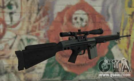 Sniper rifle from L4D for GTA San Andreas second screenshot
