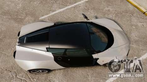 Marussia B2 for GTA 4 right view