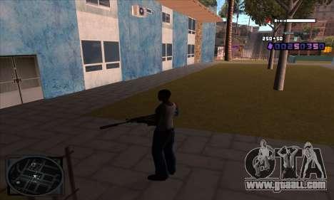 C-HUD Belenky for GTA San Andreas