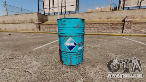 New coloring books for barrels for GTA 4 third screenshot