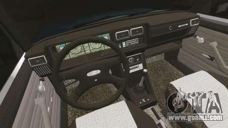VAZ-2107 for GTA 4 inner view