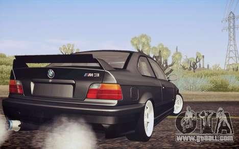 BMW M3 E36 Angle Killer for GTA San Andreas left view