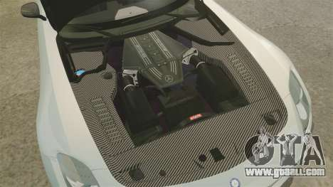 Mercedes-Benz SLS 2014 AMG Black Series for GTA 4 inner view
