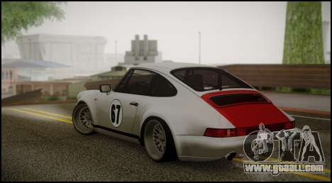 Porsche 911 for GTA San Andreas left view
