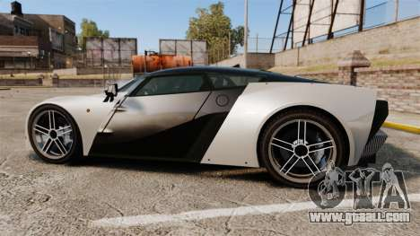 Marussia B2 for GTA 4 left view