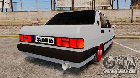 Tofas Sahin for GTA 4 back left view