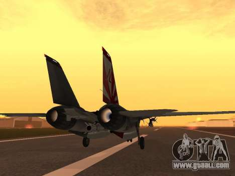 F-14 LQ for GTA San Andreas right view