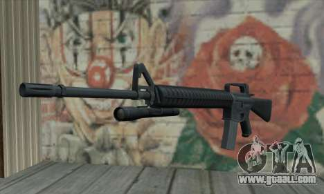 M16 from L4D for GTA San Andreas