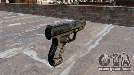Walther P99 semi-automatic pistol for GTA 4 second screenshot