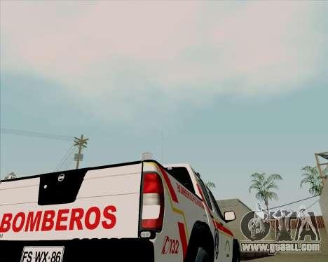 Nissan Terrano for GTA San Andreas upper view
