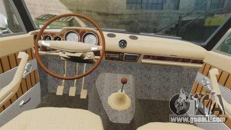 VAZ-2103 Lada for GTA 4 inner view