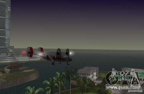 The an-28 for GTA Vice City back left view