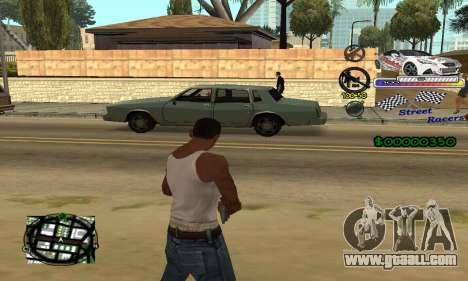 HUD Races for GTA San Andreas second screenshot