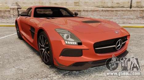 Mercedes-Benz SLS 2014 AMG Black Series for GTA 4