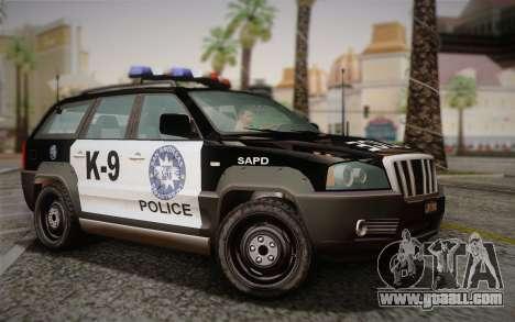 NFS Suv Rhino Light - Police car 2004 for GTA San Andreas