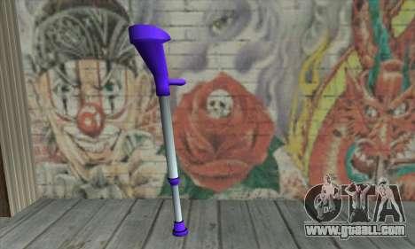 Crutch for GTA San Andreas second screenshot