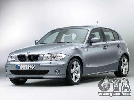 Boot screens BMW 116i for GTA 4 third screenshot