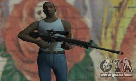 Sniper rifle from L4D for GTA San Andreas third screenshot