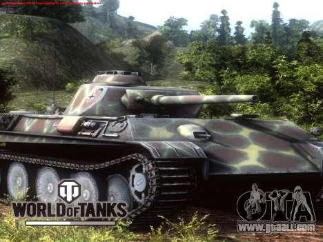 Boot screen World of Tanks for GTA San Andreas forth screenshot