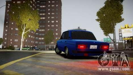 VAZ 2106 Baku for GTA 4 back left view